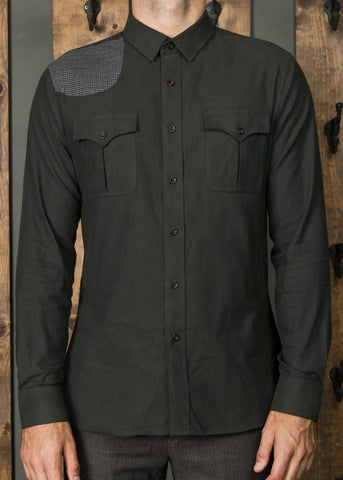 Marksman Hunter Green Shirt