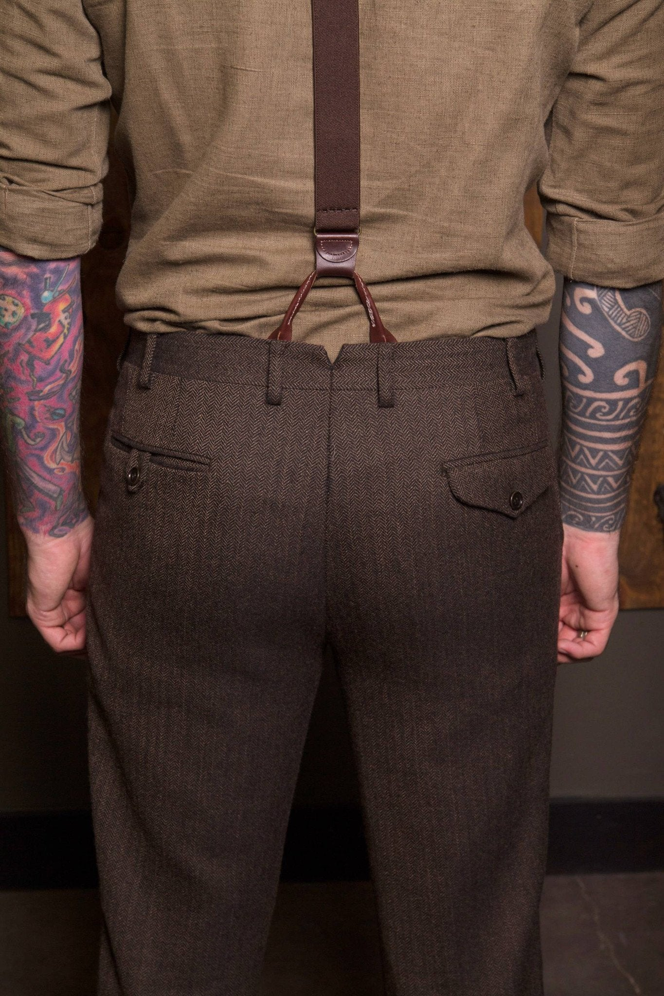 Scofflaw Tweed Trouser