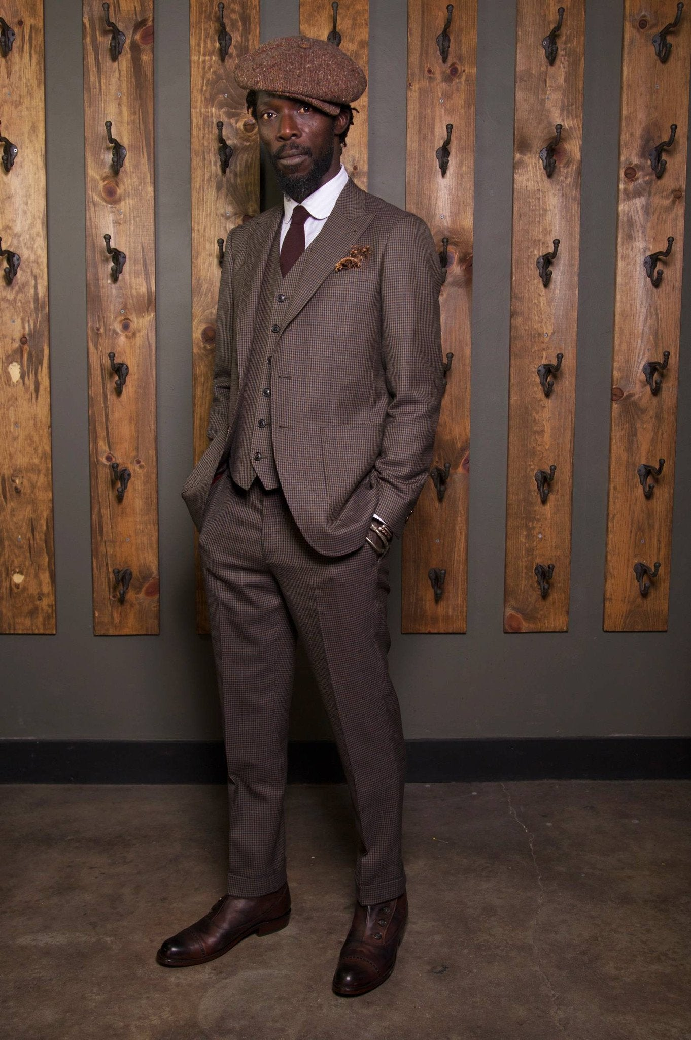 The 1925 Suit-Bykowski Tailor & Garb tailored fit slim fit vintage inspired Wool Rustic prohibition peaky blinders Handcrafted Made in USA Gatsby 1930's 1920's 1910's Dapper Edwardian