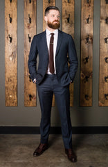 Two-Piece classic suit-Bykowski Tailor & Garb slim fit tailored fit Wool 1920's Dapper hand crafted