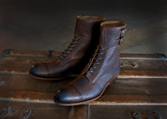 Double Calf Strap Boot (PRE ORDER BEFORE JUNE 15th)