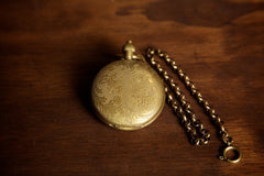 Scrollwork Pocket Watch