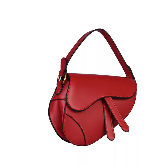 Kelly Red Saddle Bag