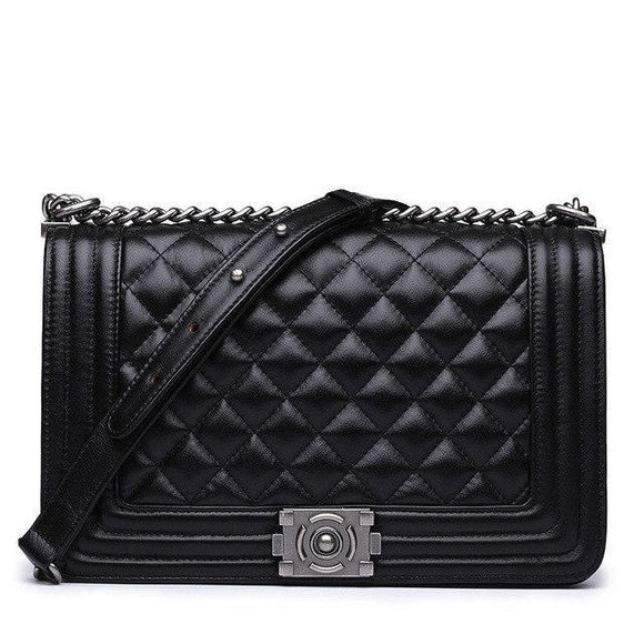 Demi Quilted Bag Black
