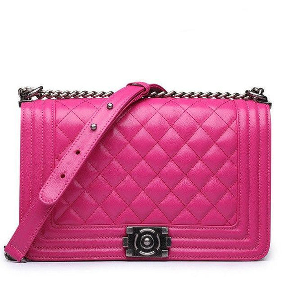 Demi Quilted Bag Rose