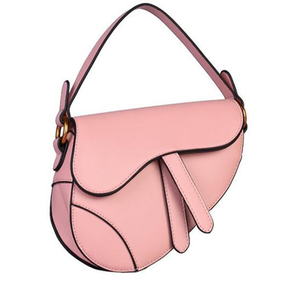 Kelly Pink Saddle Bag