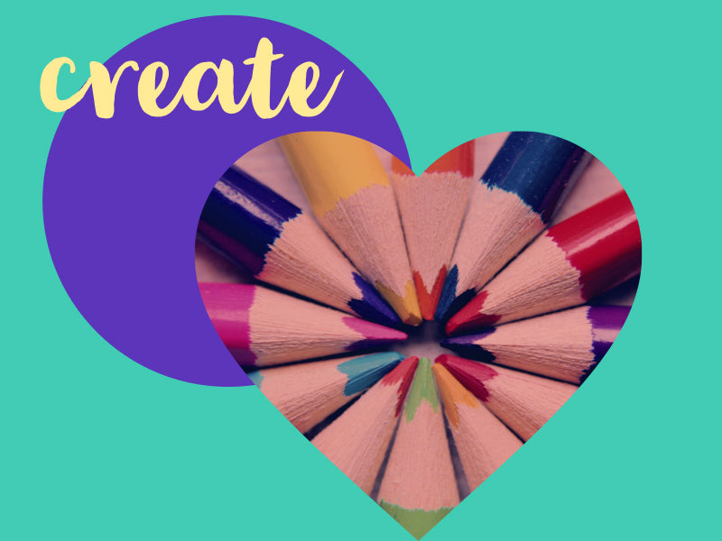 Create with educational colours wooden pencils at Toy Store and More