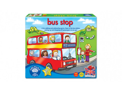 bus stop by orchard toys is a fun addition and subtraction game