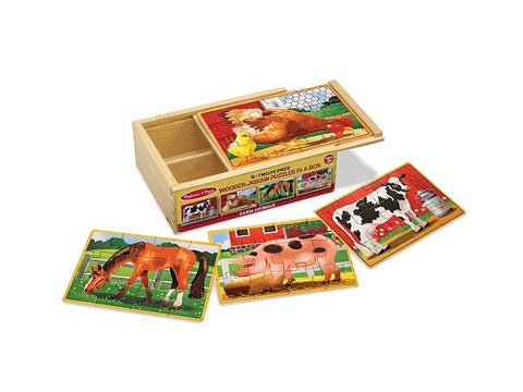 Farm Jigsaw Puzzle Set