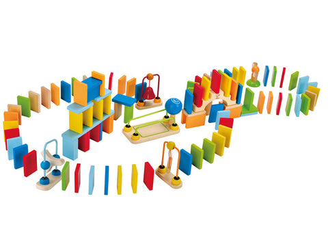Hape wooden dynamo dominoes