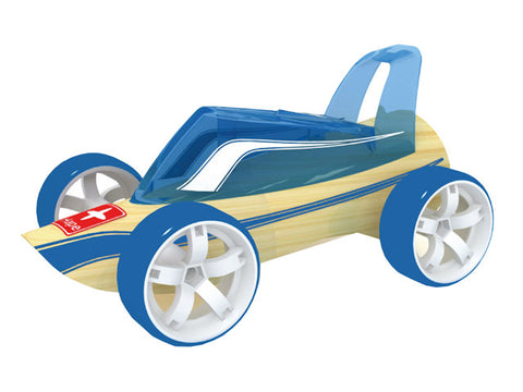 mini roadster wooden toy car