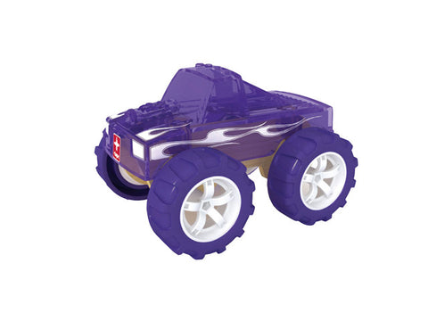 mini monster truck wooden toy car