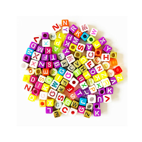 Alphabet Beads - mixed colours - Toy Store and More