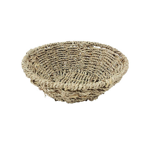 Natural Woven Craft Basket