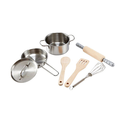 seven piece chef's cooking set for children by hape