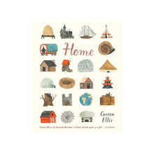 Load image into Gallery viewer, front cover of Home book by Carson Ellis