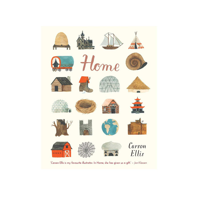 front cover of Home book by Carson Ellis