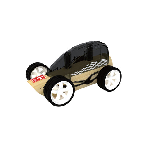 hape mini low rider wooden toy car
