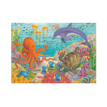 Load image into Gallery viewer, Ravensburger Ocean Friends design Jigsaw Puzzle