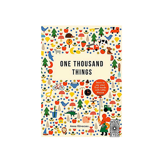 front cover of one thousand things book by Anna Kovecses