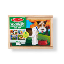 Load image into Gallery viewer, Melissa & Doug Pet Puzzle Set