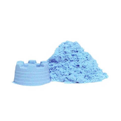 Educational Colours - Sensory Magic Sand with moulds - Blue - Toy Store and More