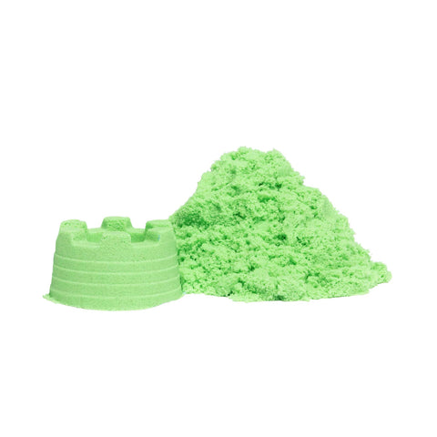 Educational Colours - Sensory Magic Sand with moulds - Green - Toy Store and More