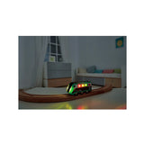 hape solar powered circuit train glowing