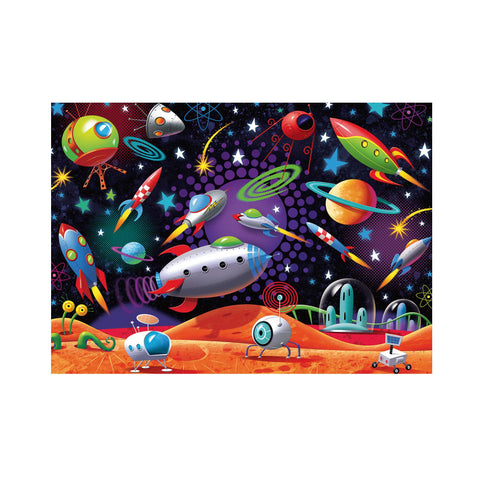 outer space scene 35 piece children's puzzle
