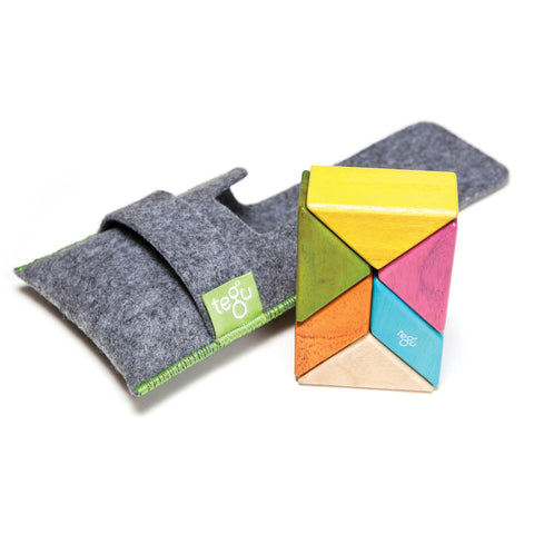 tegu pocket pouch prism blocks with felt carry pouch