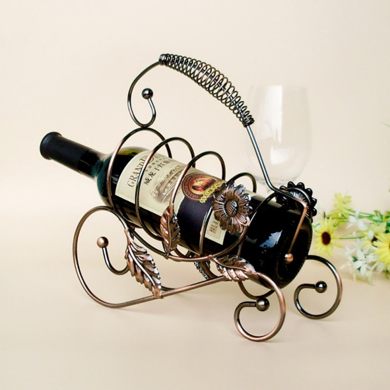 Hand-Painted Vine Rack