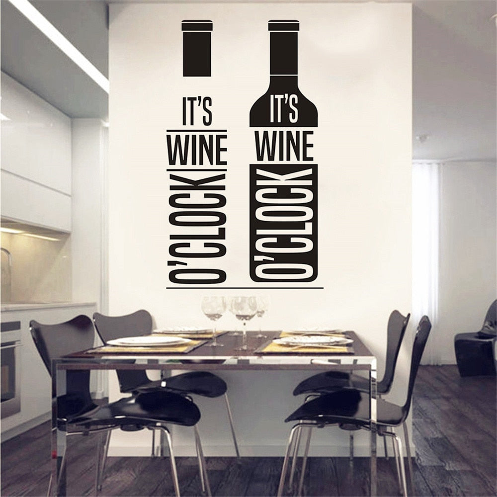 Wine Lover Wall Decals