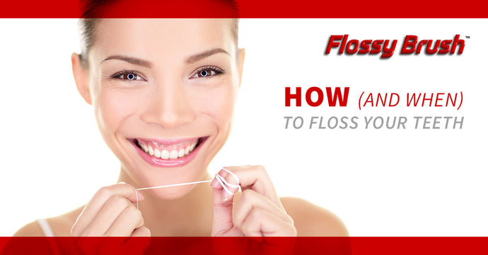 How (And When) To Floss Your Teeth