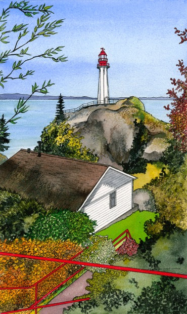 Above the Lighthouse, Point Atkinson