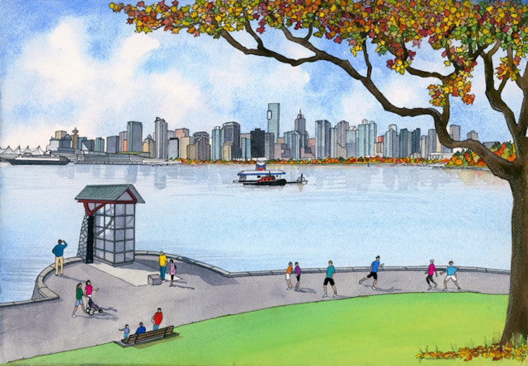 Across Coal Harbour
