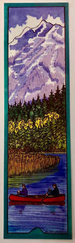 Bookmark - Alta Lake Canoe, Whistler