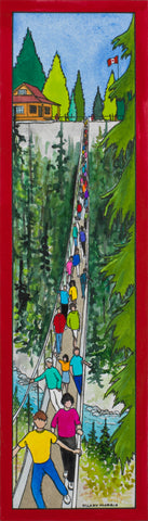 Bookmark - Crossing Capilano Suspension Bridge