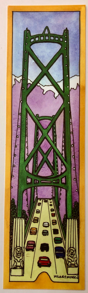 Bookmark - Lions Gate Bridge