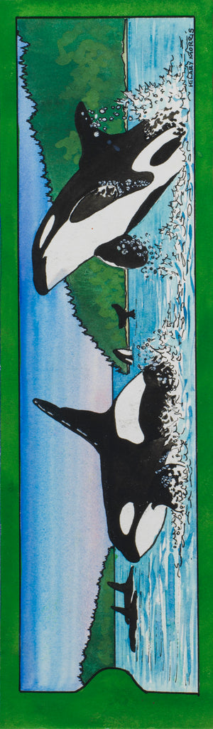 Bookmark - Orcas