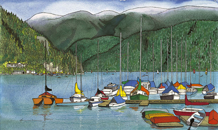 Summer in Deep Cove