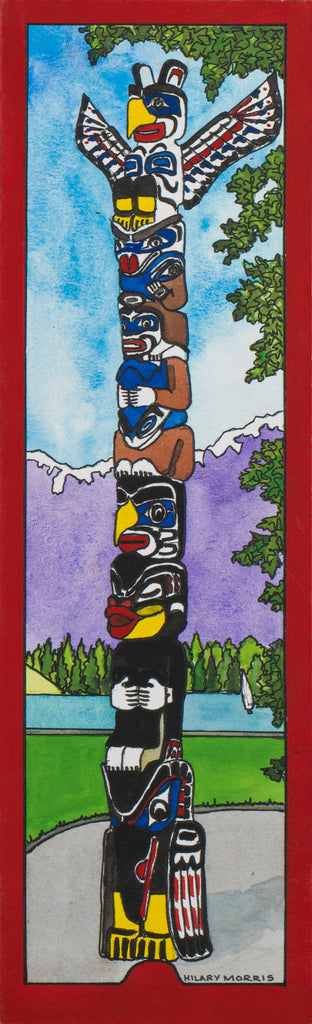 Bookmark - The Totem Pole