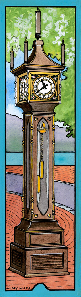 Bookmark - The Steam Clock