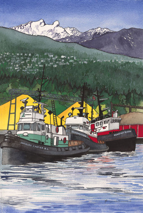 Tugs on the North Shore