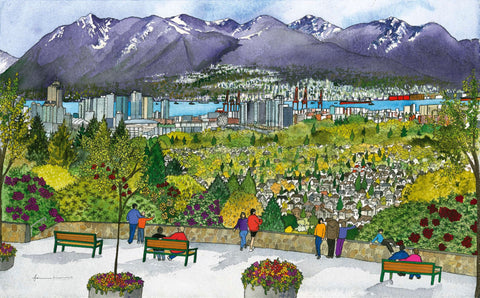 The View from Queen Elizabeth Park