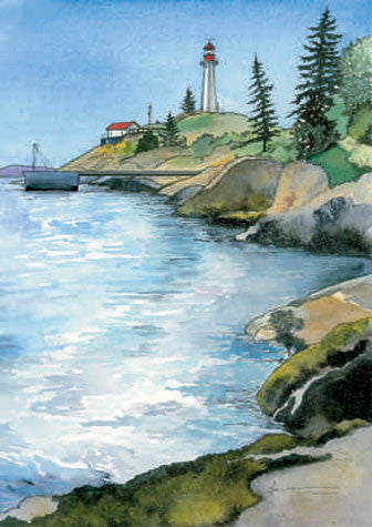 On the Rocks, Lighthouse Park