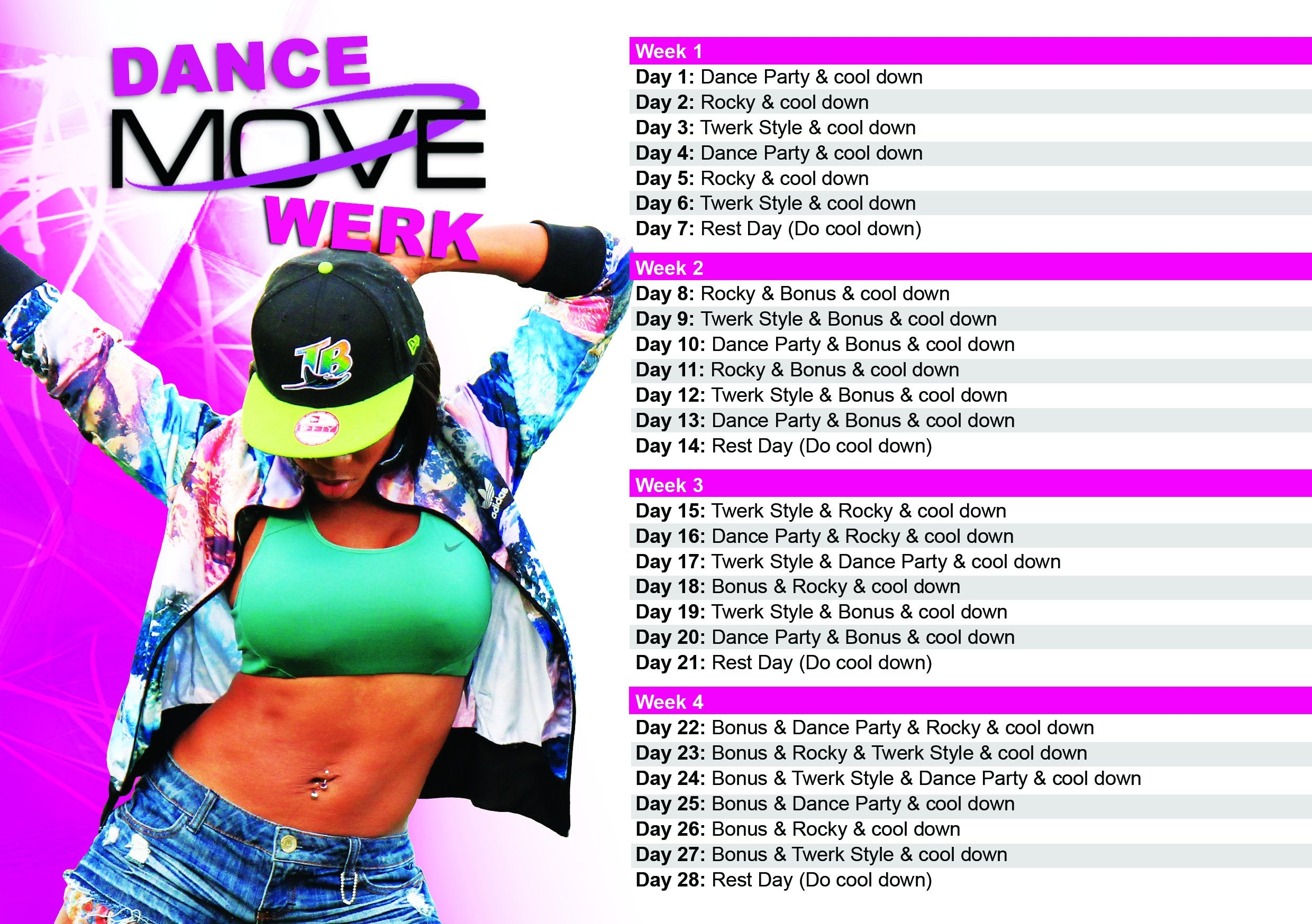 DVD- DANCE MOVE WERK Fitness