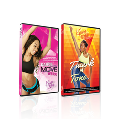Double DVD BUNDLE DEAL - DANCE MOVE WERK DVD & TWERK N TONE DVD