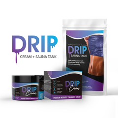 Drip Workout Enhancer Cream and Drip Sauna Tank Bundle