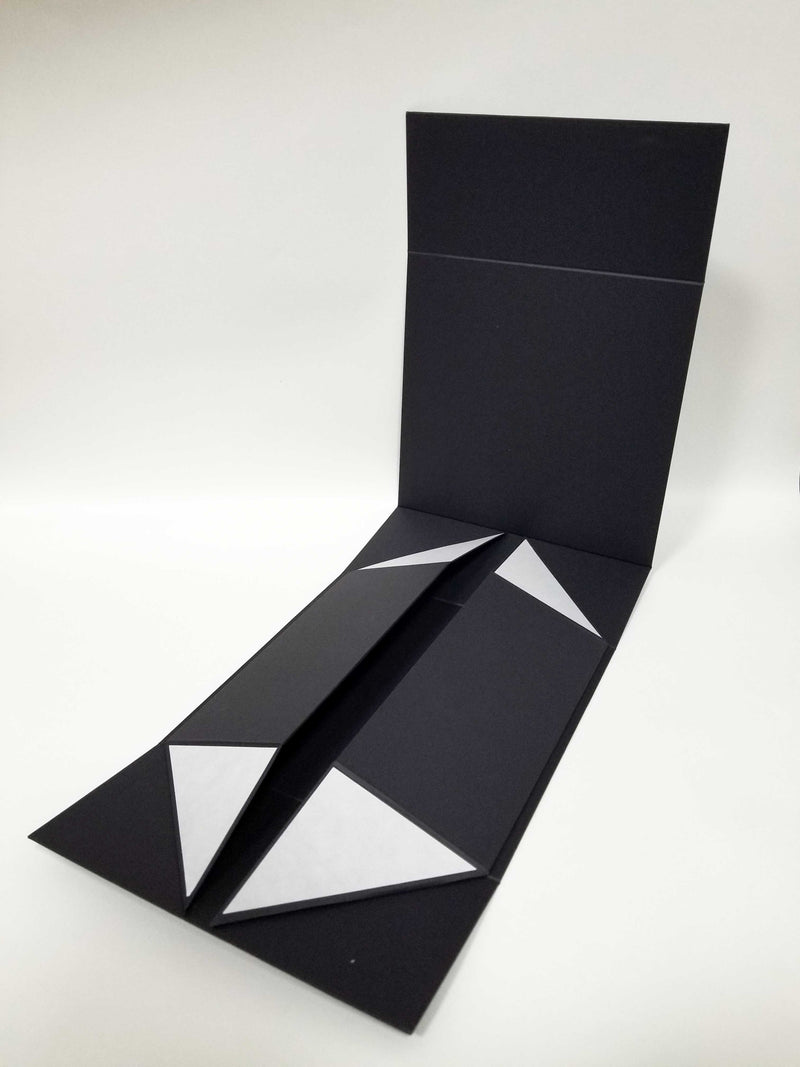 Black A6 Shallow Folding Gift Box