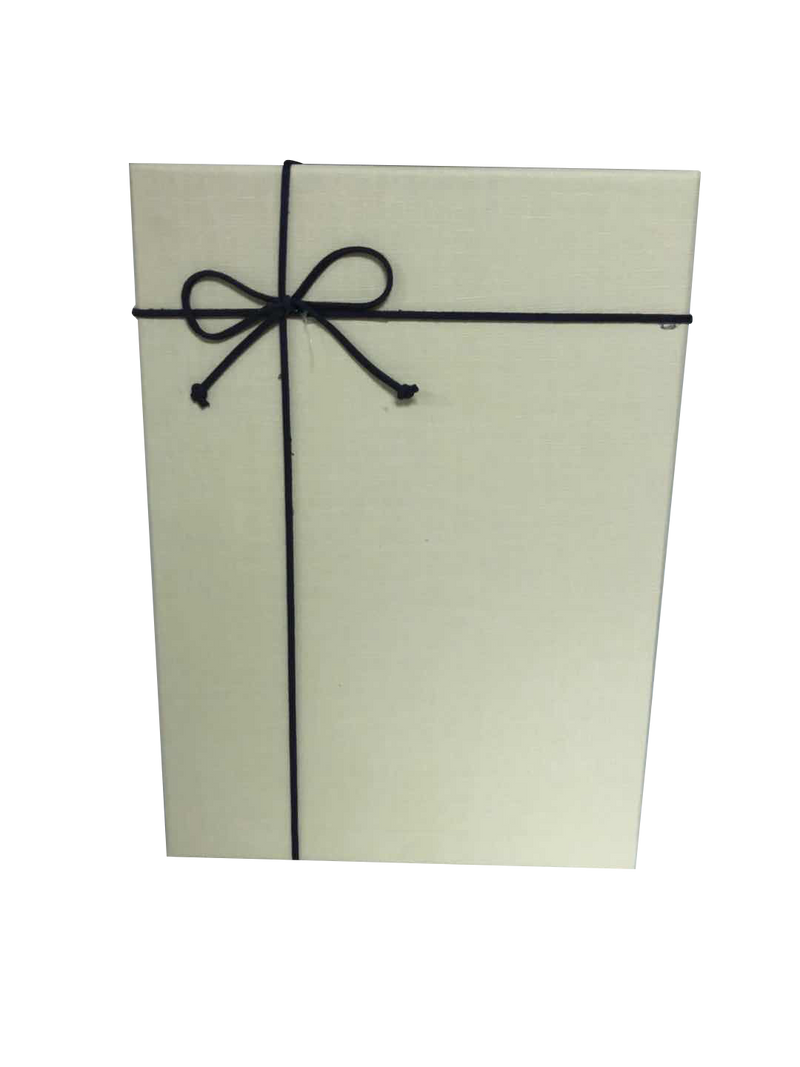 Rectangular Paper Gift Box with Bow